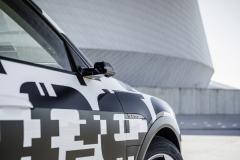 The Audi e-tron prototype in Copenhagen