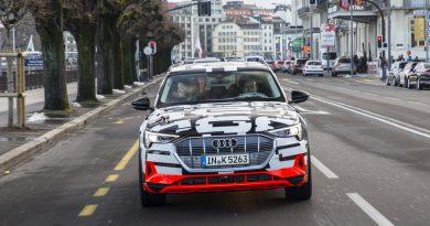 E-tron – Audijev prvi model z izključno električnim pogonom