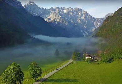 Osupljive lepote Slovenije v novem Mercedesovem oglasu