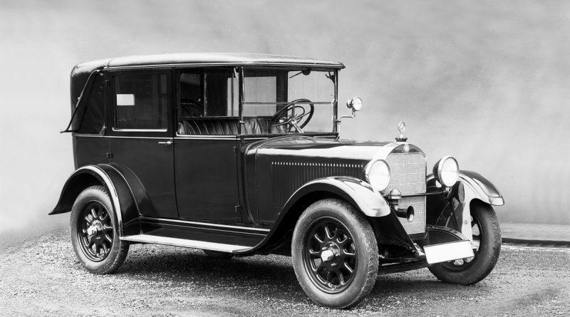 Takšne avtomobile so vozili leta 1926.