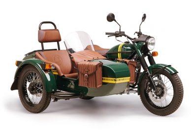 Ural predstavlja omejeno serijo motociklov Transsib