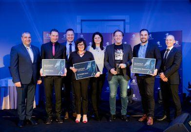 Peugeot podelil priznanja najboljšim v svoji mreži