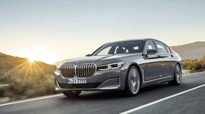 Razkošna limuzina BMW serije 7 v novi podobi