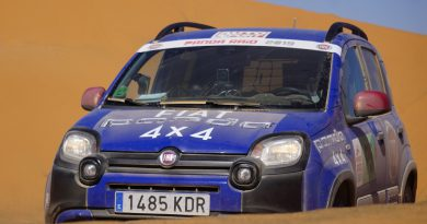 Fiat Panda Cross premaga tudi puščavo