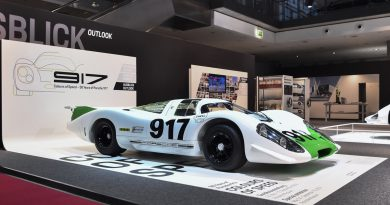 Pet desetletij Porschejevega dirkalnika 917