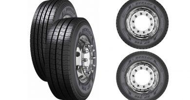 Nova serija tovornih pnevmatik Dunlop