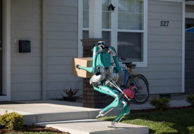 Bo robot Digit pomagal dostavljati pakete?