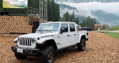 Camp Jeep tudi v znamenju novega Gladiatorja