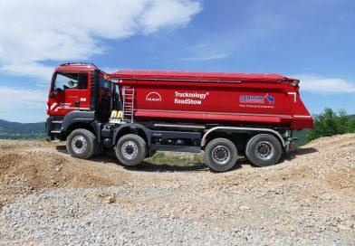 MAN-ova predstavitev v okviru tekmovanja Europa Truck Trial