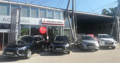 Slovenski odbojkarji se bodo vozili z Mitsubishiji