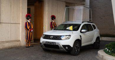 Dacia Duster za papeža