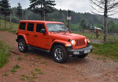 Jeep Wrangler: Zabavni posebnež