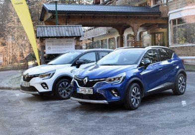 Renault Captur želi še naprej voditi