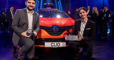 Slovenski avto leta 2020 je Renault Clio