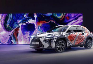 Lexus je predstavil prvi avtomobil s tatuji