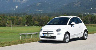Fiat 500 tudi s pomočjo elektrike