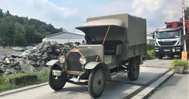 Obnovljeni Fiat 15 TER ima 110 let