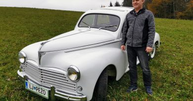 Peugeot 203 je eden izmed najstarejših v Sloveniji