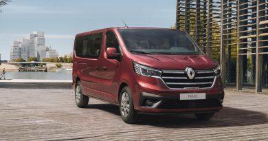 Renault posodablja potniški različici Trafica