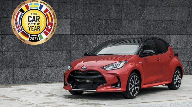 Evropski avto leta je Toyota Yaris
