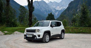 Jeep Renegade 4xe: Tradicija in tehnologija