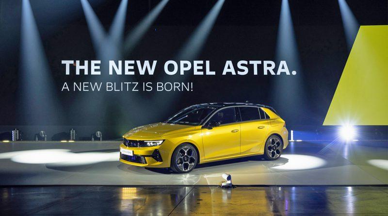 Opel Astra pripeljala do šeste generacije